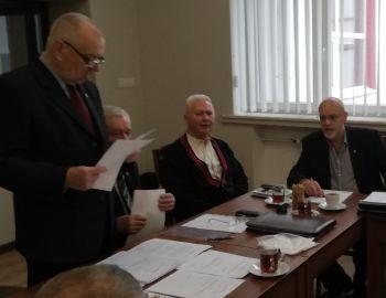 Walne Sprawozdawcze Zgromadzenie Delegatów Koła Wędkarskiego 134 OM PZW w Łodzi